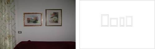 Disposizione dei quadri - Altezza quadri sopra divano ...